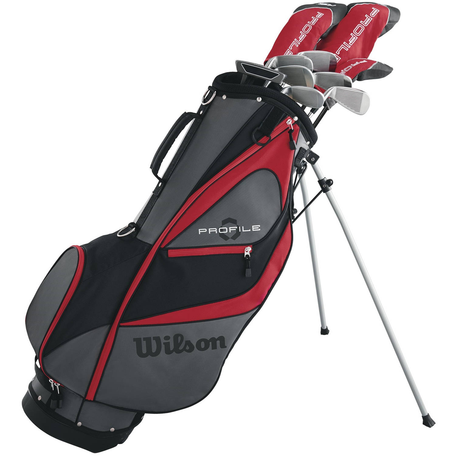 Wilson Profile XD Mens Package Golf Set, Long, Left Handed by Wilson Sporting Goods Co.