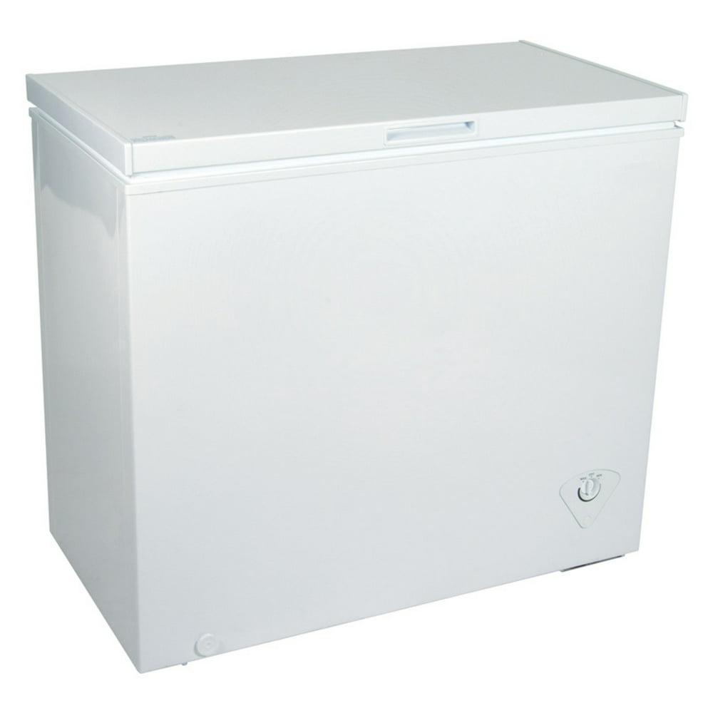 Koolatron KTCF195 6.9 Cubic Foot (195 Liters) Large Chest Freezer with Adjustable Thermostat