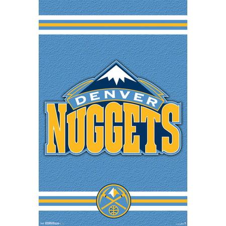 Trends International Denver Nuggets Logo Wall Poster 22.375