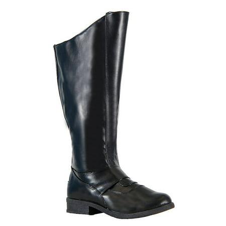 Superhero Gotham Black Costume Boots (Superhero Boot Covers)