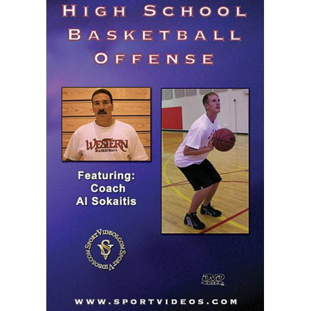 High School Basketball Offense (DVD) (Best Continuity Basketball Offense)