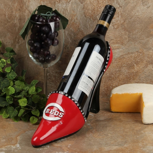 Cincinnati Reds Decorative Wine Bottle Holder - Shoe