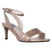 Womens Clarks Amali Jewel Ankle Strap Dress Sandals - Champagne