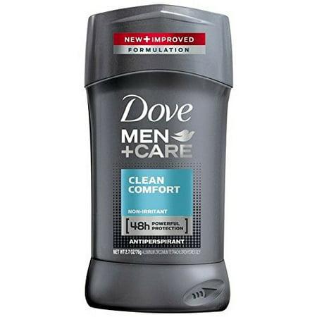 Dove Men+Care Antiperspirant Deodorant Stick Clean Comfort 2.7 (Dove Men Care Clean Comfort Antiperspirant Deodorant)