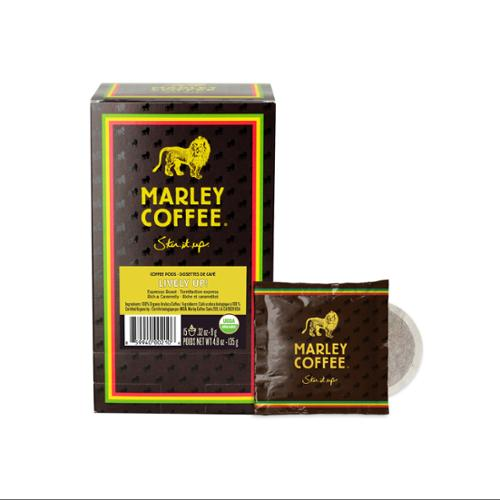 National Coffee Roasters 02106 Coffee Pods, Lively Up!, 0.32 Oz, 15/box, 6 Box/carton