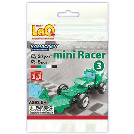 Laq Hamacron Mini Racer 3 Building Set  Green