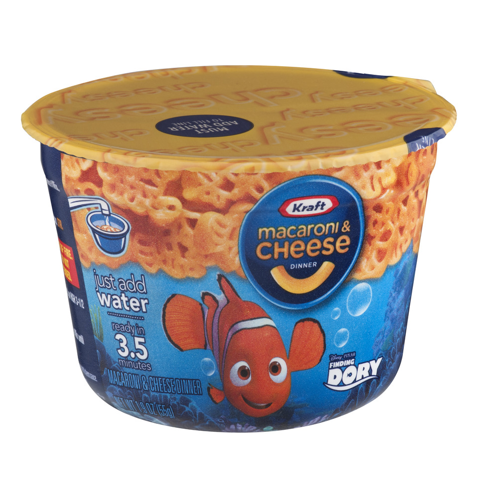 Kraft Macaroni & Cheese Cup Disney Finding Dory, 1.9 OZ