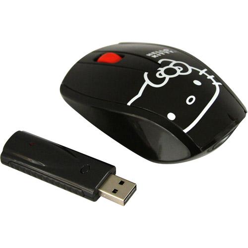 Sakar Hello Kitty 2.4GHz Wireless USB Optical Mouse