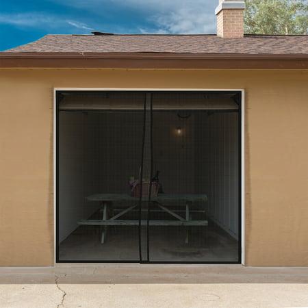 Magnetic Garage Door Screen For One Car Garage Heavy Duty