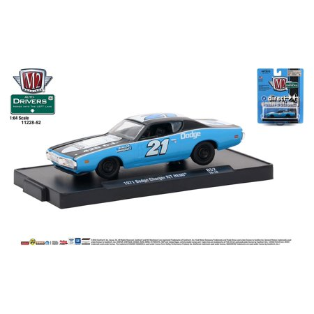 M2 Machines Auto-Drivers 1:64 R52 1971 Dodge Charger RT Hemi (Direct Connection) ()