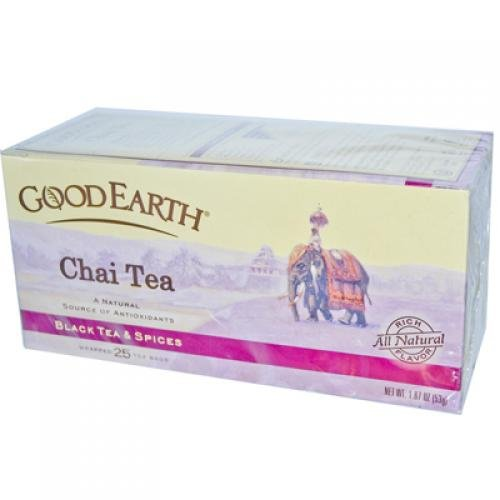 Good Earth Teas Chai Tea 25 Tea Bags Case of 6