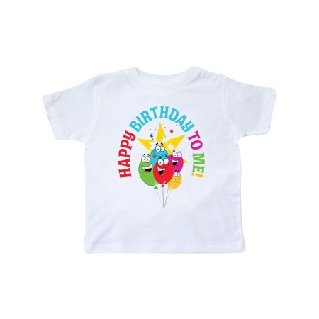 Happy Birthday To Me Toddler T Shirt