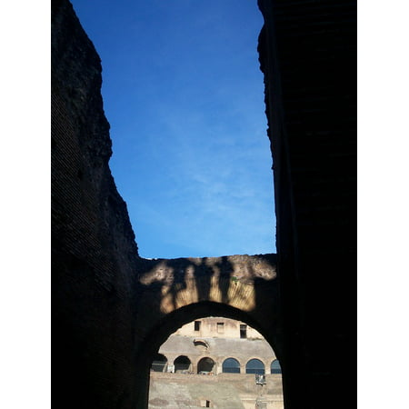 Laminated Poster Rome Colosseum Shadows City Poster Print 24 X 36