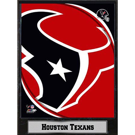 NFL Houston Texans Photo Plaque, 9x12