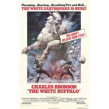 The White Buffalo (1977) 11x17 Movie Poster