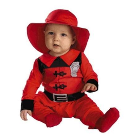 Infant Baby Fireman Halloween Costume (3-12 Months) - Toddler Fireman Halloween Costume