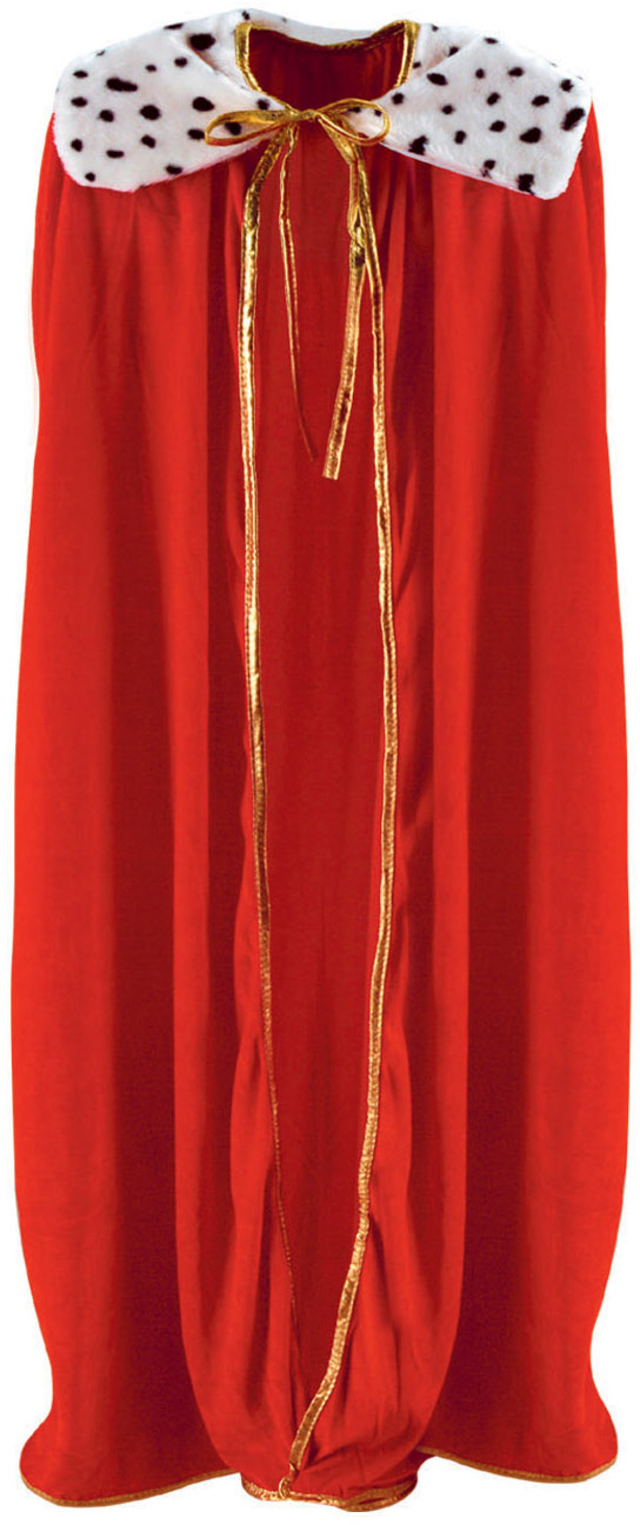 Adults Medieval Royal Red King Robe And Crown Set Costume Accessory