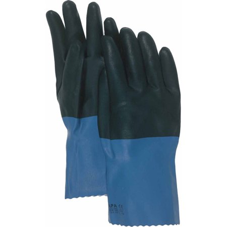 Neoprene Coated Gloves (34L 12 Large Supported Neoprene Coated Chemical)