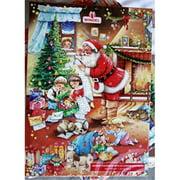 Advent Christmas Calendar / 24 Chocolate Pieces Countdown Calendar