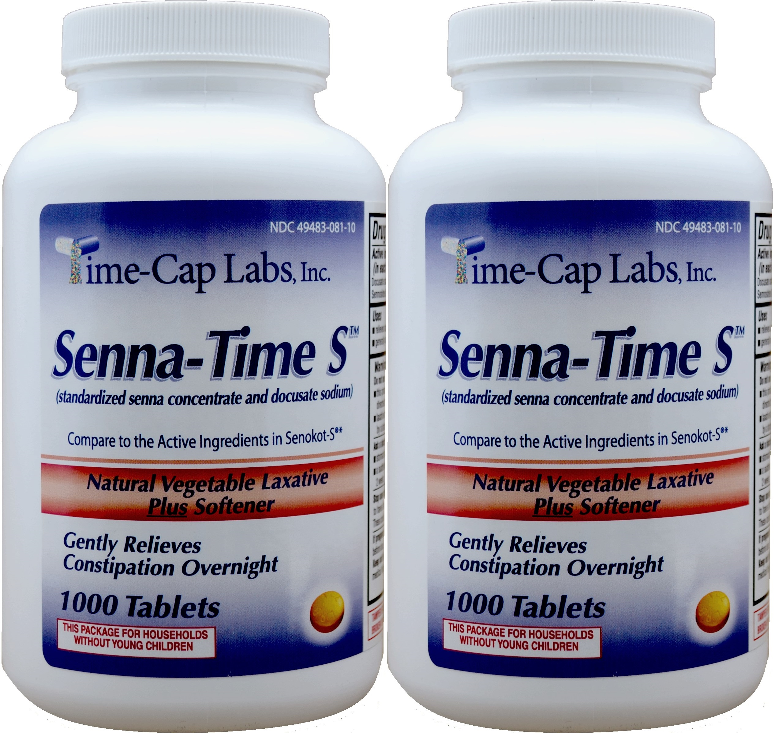 Senna S Generic For Senokot S Natural Vegetable Laxative