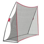 ZENSTYLE 10x7ft Portable Golf Net Hitting Net Practice Driving Indoor Outdoor w/Carry Bag