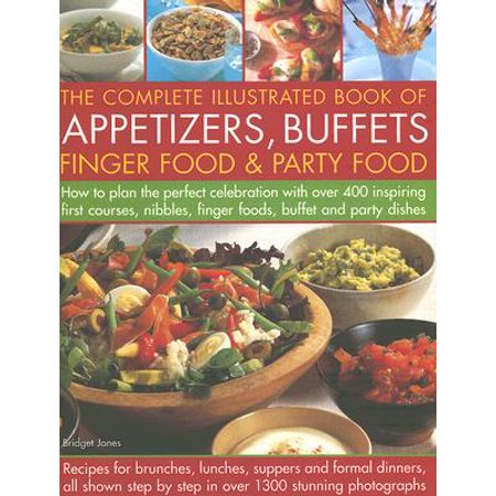 The Complete Illustrated Book of Appetizers, Buffets, Finger Food & Party Food - Easy Halloween Party Appetizers