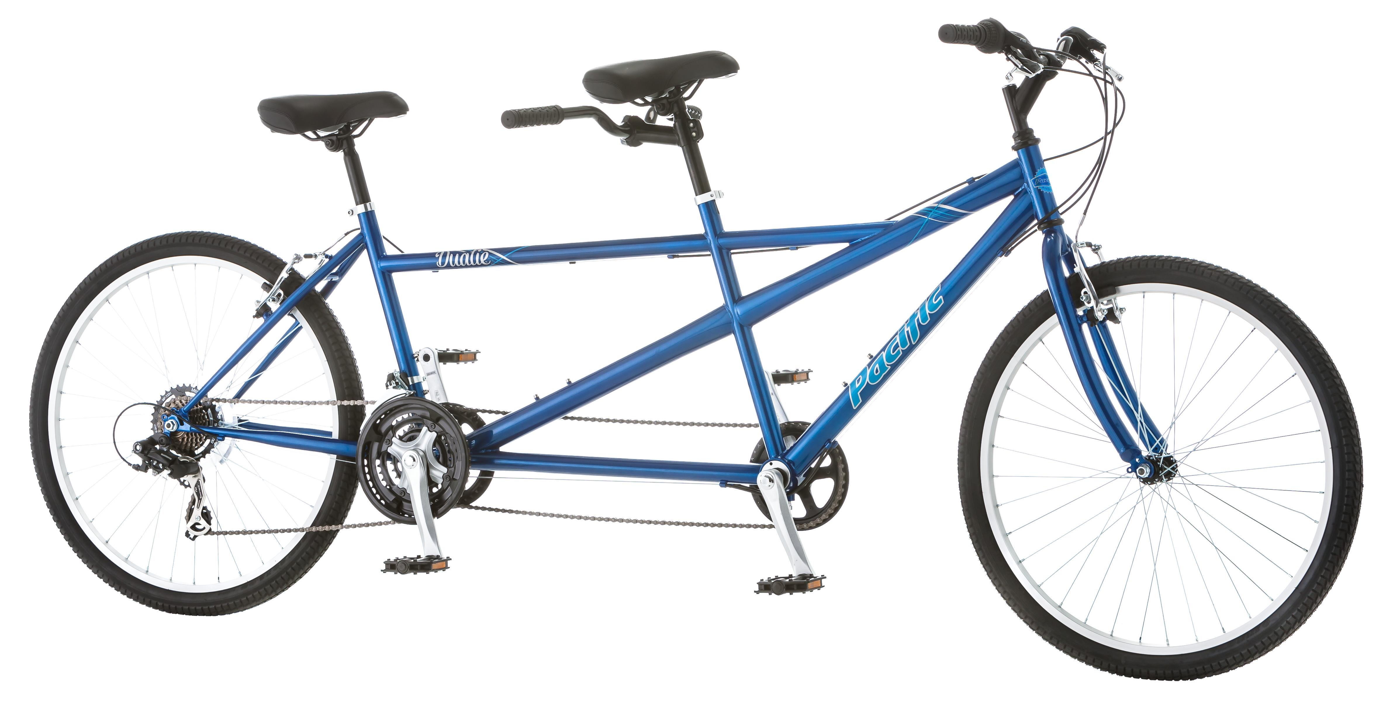 Click here to buy Pacific Dualie Tandem Bicycle by Pacific.