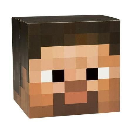 JINX Minecraft Steve Box Head V2
