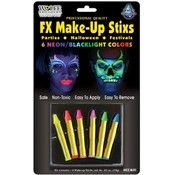 Wolfe Brothers Makeup Kit Adult Halloween Accessory