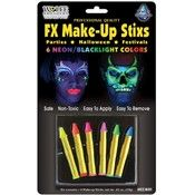 Wolfe Brothers Makeup Kit Adult Halloween Accessory - Jigsaw Halloween Makeup Ideas