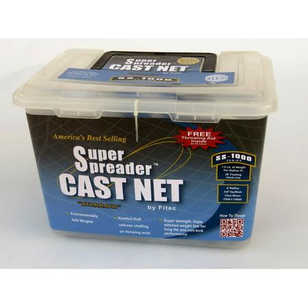 FITEC SS1000 Super Spreader Cast Net 5'x 1/4