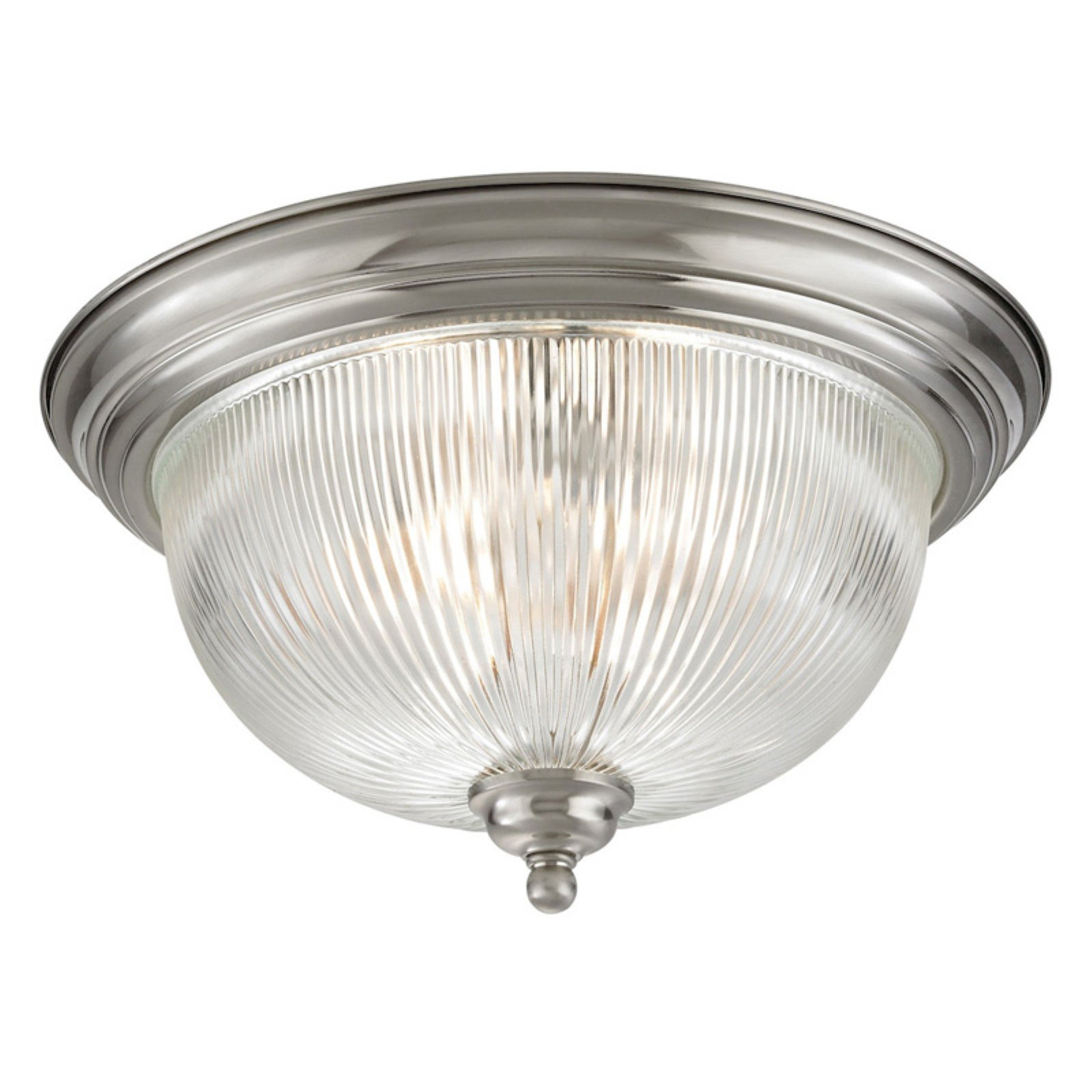Thomas Lighting Liberty Park 3 Light Flush Mount Ceiling Light by CornerStone