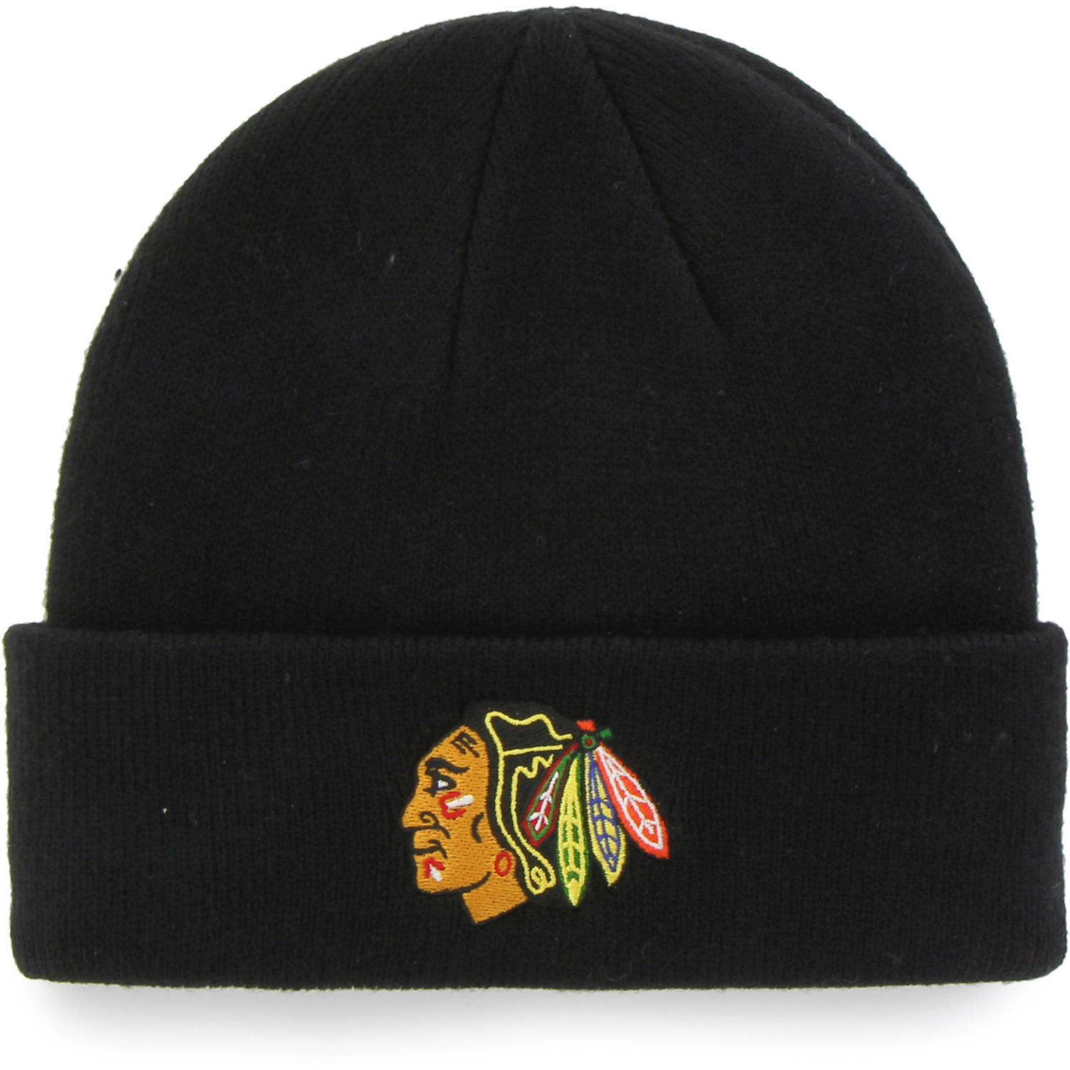 NHL Chicago Blackhawks Mass Cuff Knit Cap - Fan Favorite