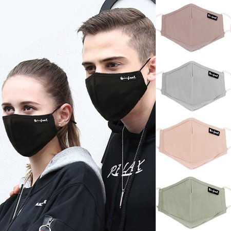 Convenient Washable Cotton Face Mouth Mask PM2.5 Anti Dust Pollution Haze Filter Respirator Hot Sale
