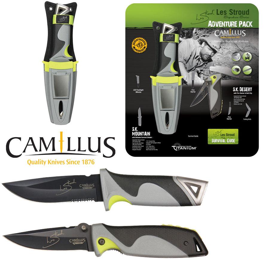 Camillus Les Stroud SK Adventure Survival Combo Set by
