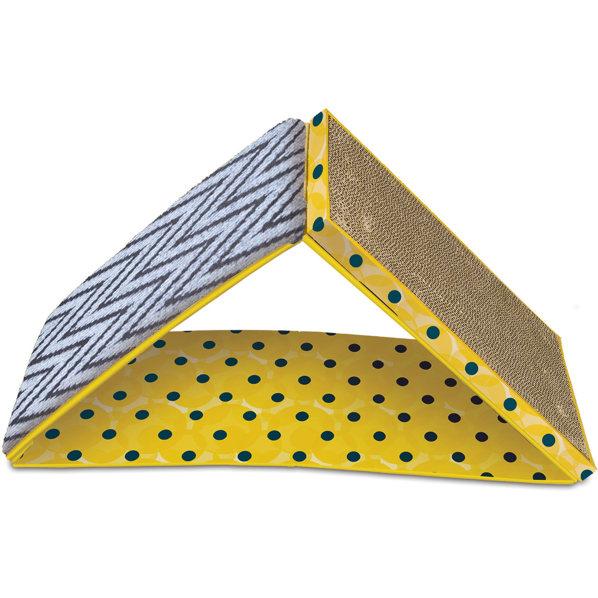 Pet Zone 2-in-1 Dual Incline Cat Scratcher