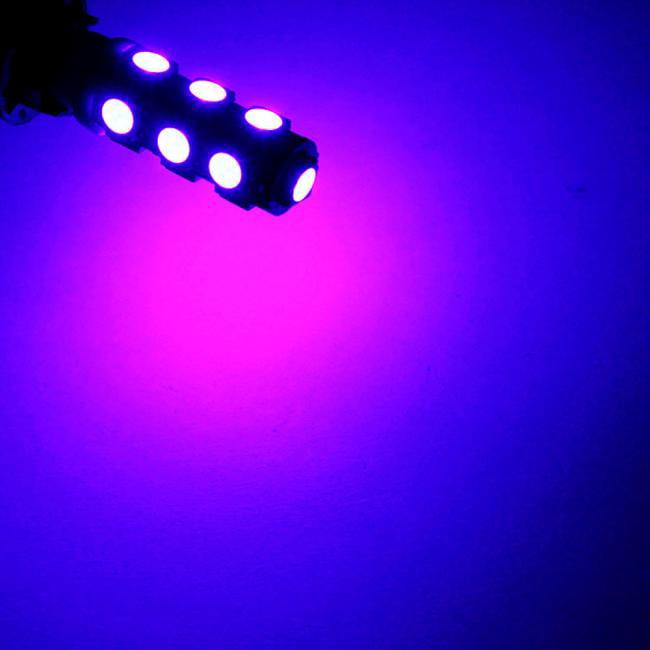 DZT1968 10PC13 SMD T10 5050 Index Dome Vehicle Auto Car Truck LED Light Bulbs