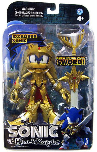 Sonic The Hedgehog Sonic and the Black Knight Sonic Action Figure [Excalibur, No Packaging] by