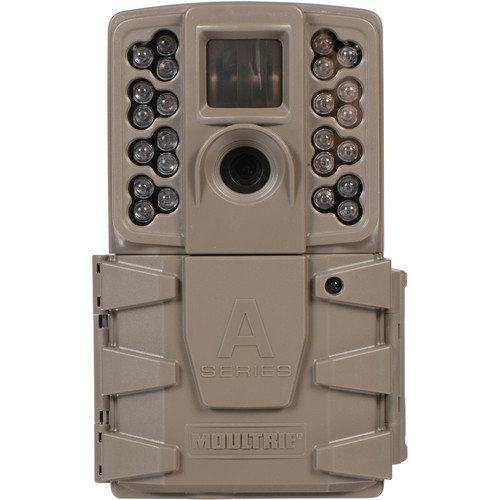 Moultrie MCG-13201 A-30 Game Camera With 720p HD Video & Multishot, Time-lapse, Hybrid Modes- Single
