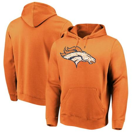 the latest 2e254 c4e62 Denver Broncos Majestic Line of Scrimmage Pullover Hooded Sweatshirt -  Orange - Walmart.com