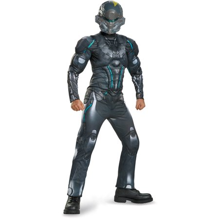Microsoft Halo Spartan Locke Classic Muscle Child Halloween - Spartan Halloween Costume