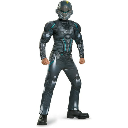 Spartan Goddess Costume (Microsoft Halo Spartan Locke Classic Muscle Child Halloween)
