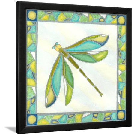 Mini Luminous Dragonfly II Framed Print Wall Art By Vanna Lam