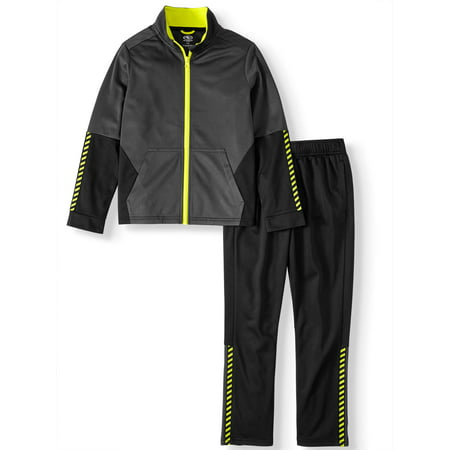 Athletic Works 2-Piece Athletic Tracksuit Tricot Set (Little Boys, Big Boys & Husky)