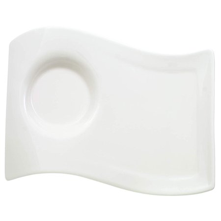 Villeroy & Boch New Wave Caffe Large Party Plate, 8-1/2-by-6-1/2-inch chip and dip serving plate By Villeroy