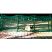 Kittywalk, Deck and Patio, Outdoor Cat Enclosure, Green, 72-in