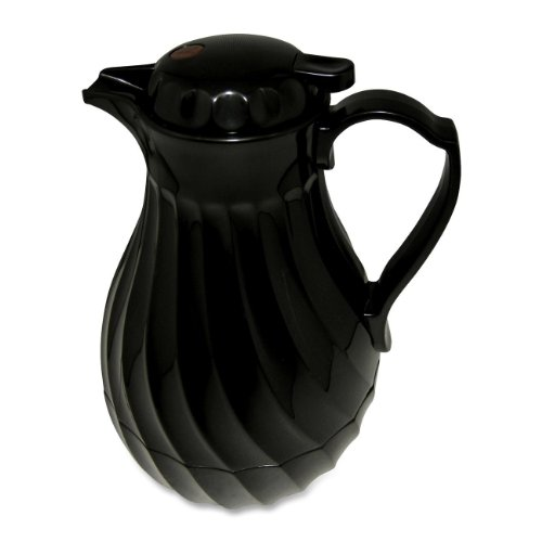 Hormel Connoisserve Insulated Black Swirl Carafe - Abs Plastic - 1each (402264B)