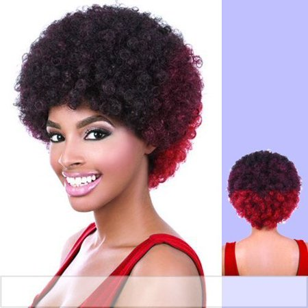 Motown Tress Heat Resistant Fiber Full Wig - AFRO (1) - image 1 of 1