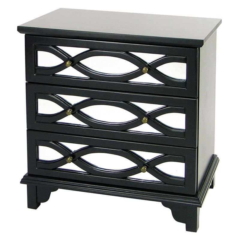 Tanner Horizontal Drawer Mirror Chest