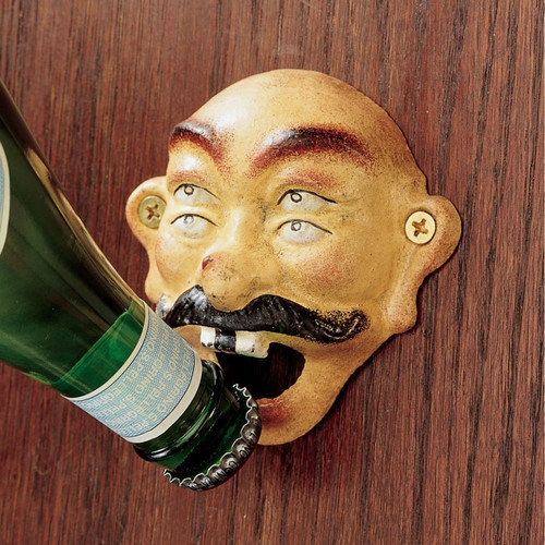 Design Toscano 4-Eyed Drunken Sailor Bottle Opener